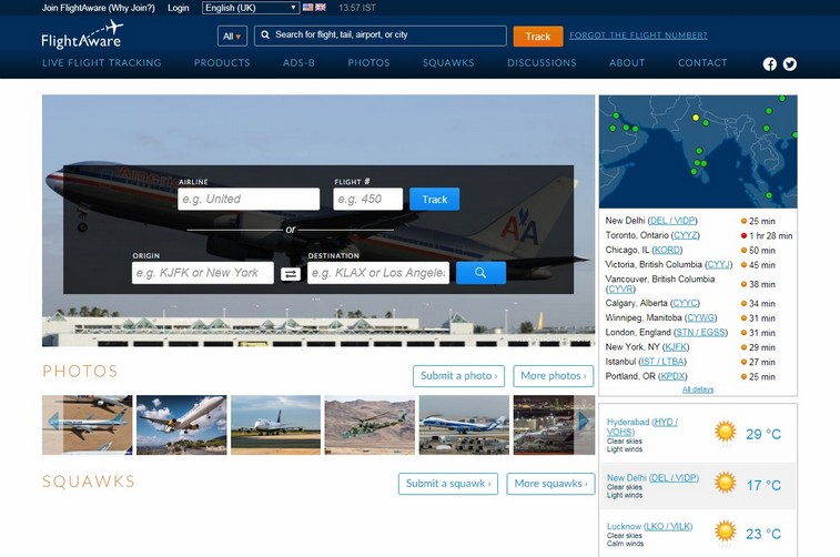 Flightaware-best-travel-website