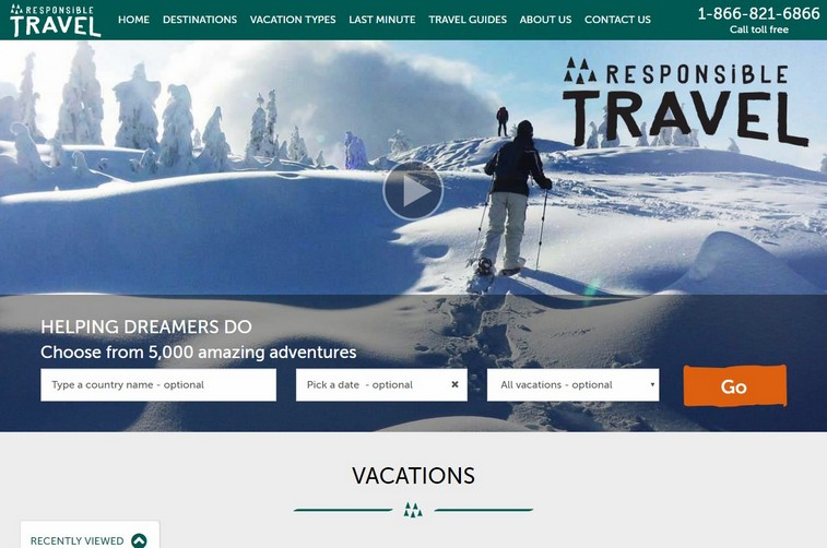 Responsiblevacation-top-travel-company-website