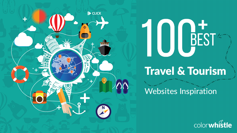 Travel and Toursim website ideas by ColorWhistle