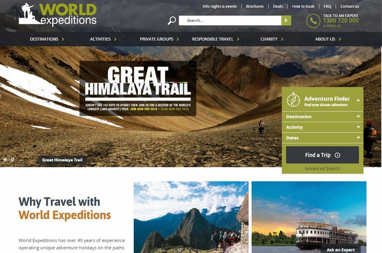 Worldexpeditions-top-travel-agency-website