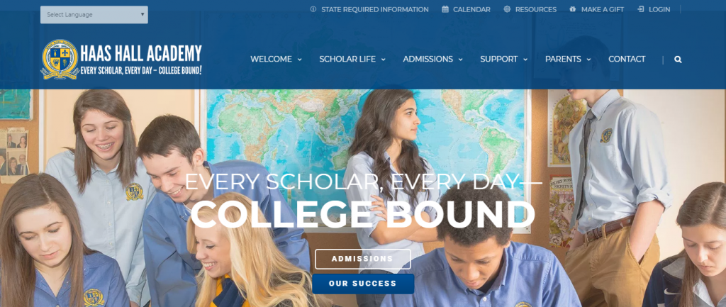 School Website Design Ideas And Inspirations - ColorWhistle