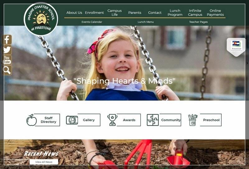 imaginefirestone charter school websites