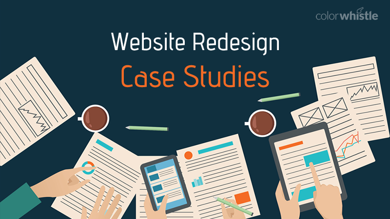 Website Redesign Case Study Examples