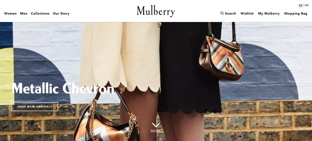 Mulberry - Electronics Ecommerce Website Design