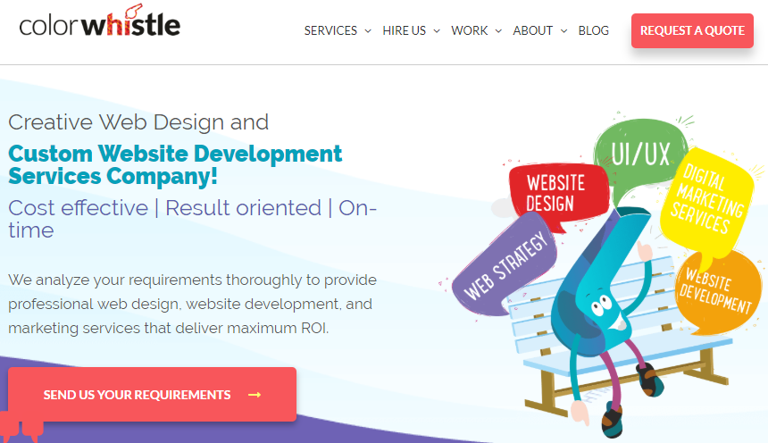 Web Design Services Company India Custom Website Development Services Agency