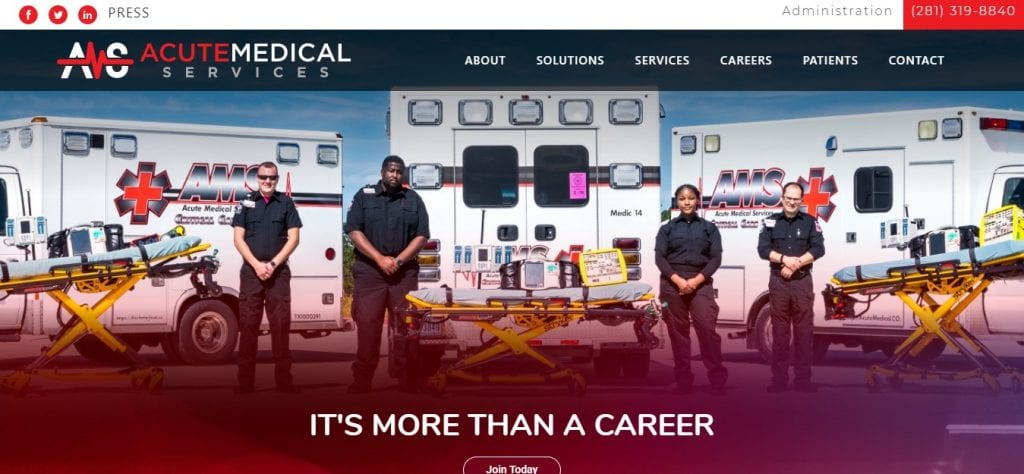 Acute-Medical-Services-Ambulatory-Website