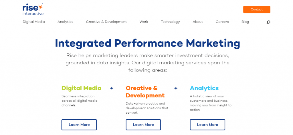 Digital Marketing Agency Rise Interactive