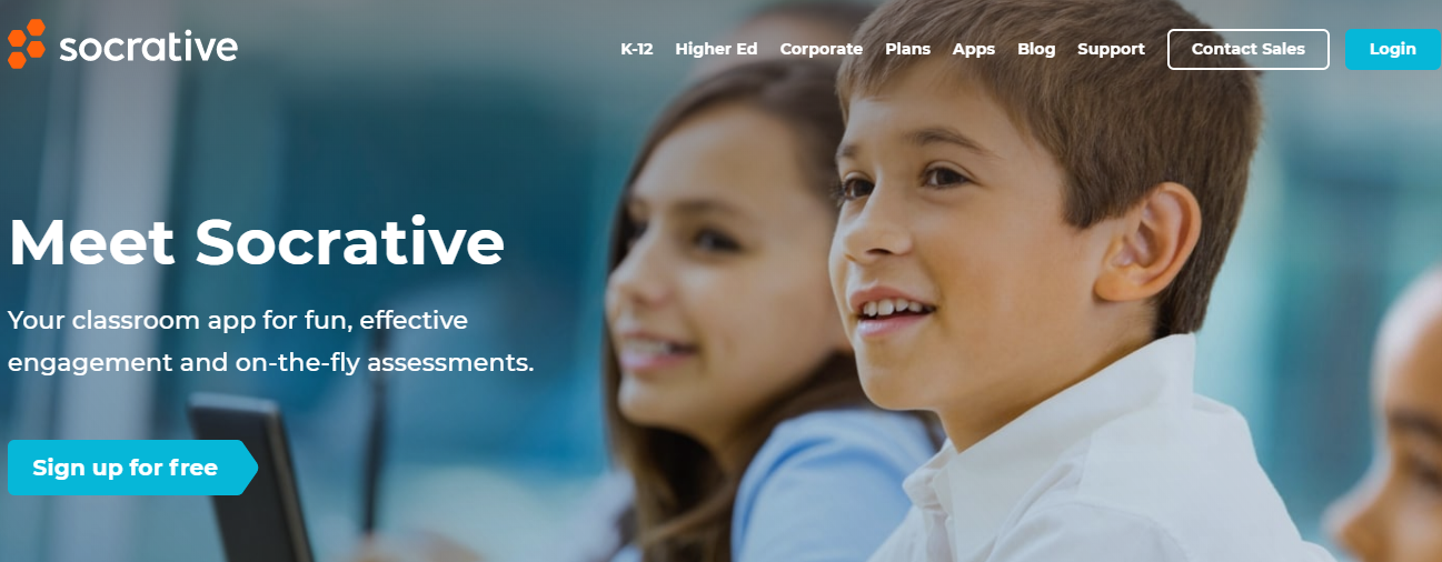 socrative -Top Interactive ELearning Web Apps for Online Classroom