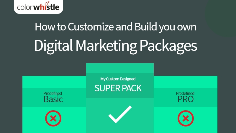How to Customize and Build you ownDigital Marketing Packages