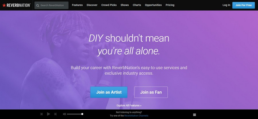ReverbNation - Small Business Website Design Ideas Music 7
