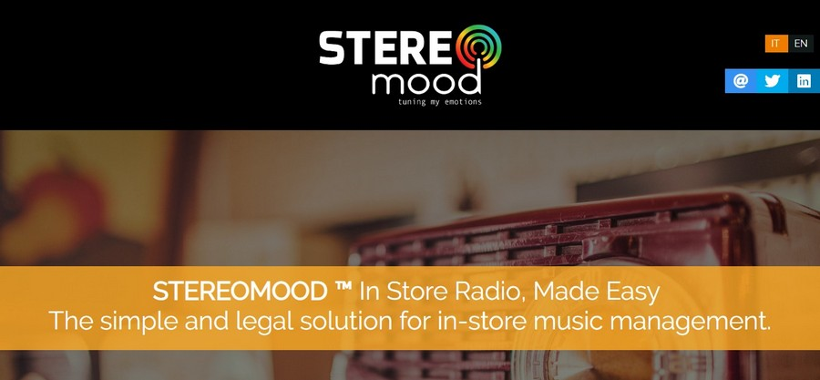 Stereomood - Small Business Website Design Ideas Music 8