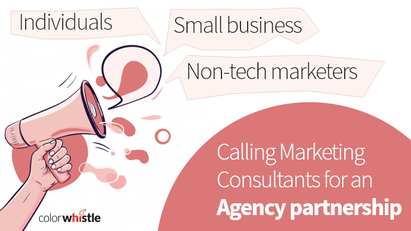 Calling Marketing consultants for an agency partnership